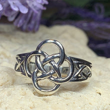 Load image into Gallery viewer, Celtic Dara Knot Ring