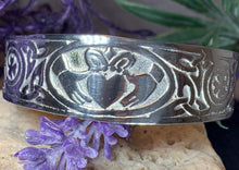 Load image into Gallery viewer, Galway Claddagh Cuff Bracelet