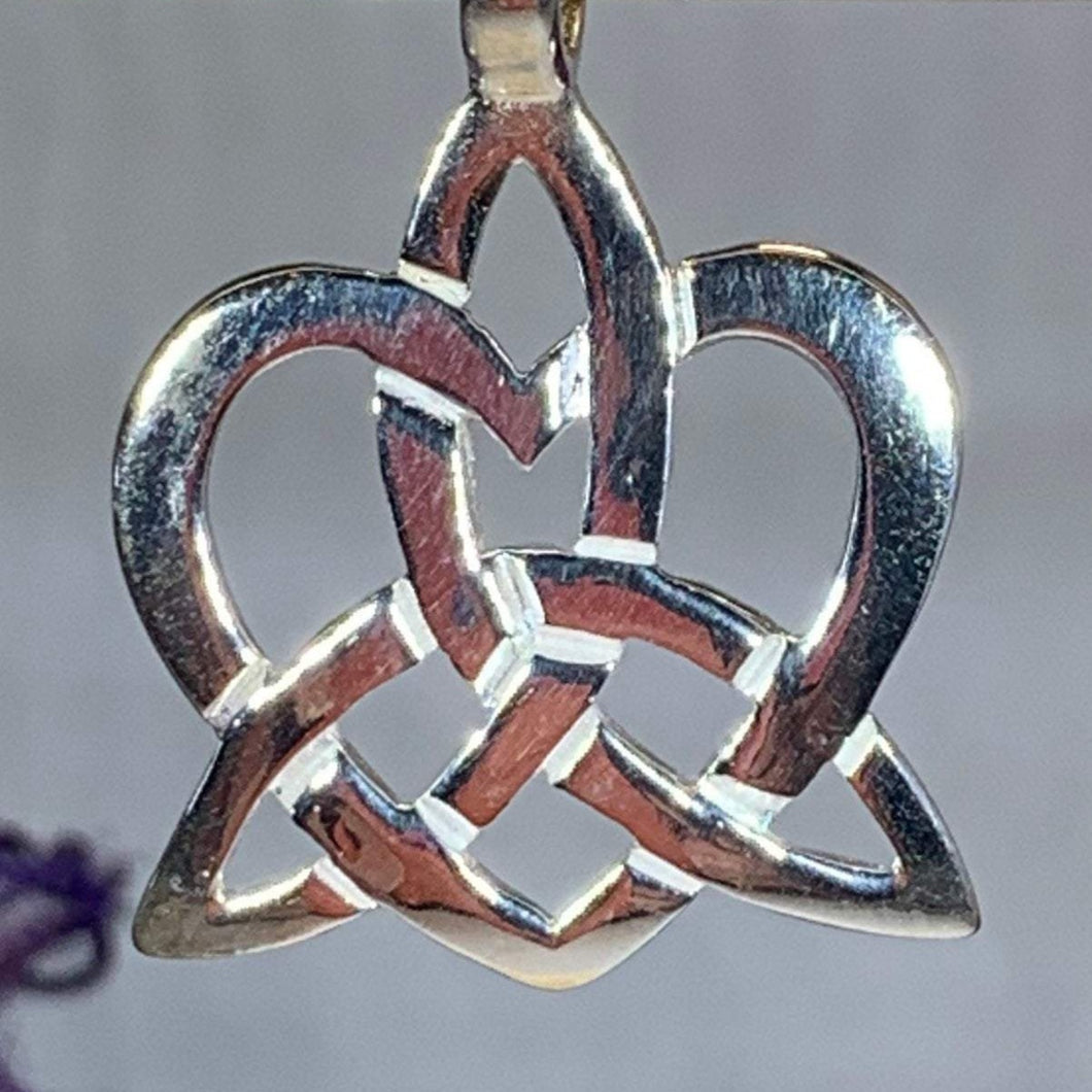 Trinity Love Knot Necklace