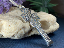Load image into Gallery viewer, Mura Celtic Cross Necklace
