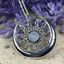 Load image into Gallery viewer, Moon Celtic Star Necklace