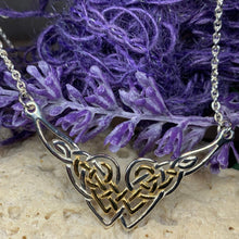 Load image into Gallery viewer, Celtic Endless Love Heart Necklace