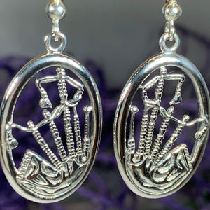 Celtic Bagpipes Earrings