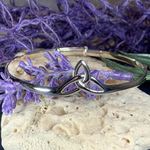 Load image into Gallery viewer, Triquetra Silver Bracelet