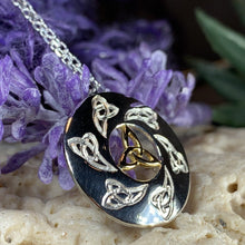 Load image into Gallery viewer, Mystical Trinity Knot Necklace