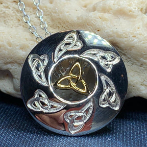Mystical Trinity Knot Necklace
