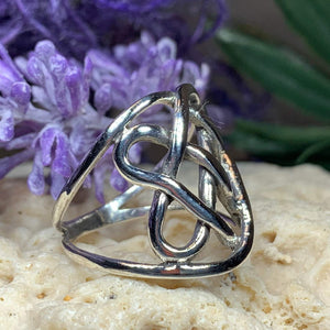 Classic Celtic Knot Ring
