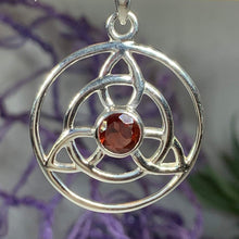 Load image into Gallery viewer, Celtic Triquetra Necklace
