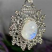 Load image into Gallery viewer, Celtic Knot Moonstone Necklace