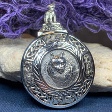 Load image into Gallery viewer, Wolf Spirit Necklace