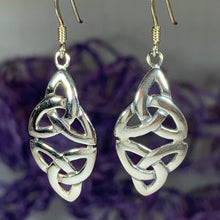 Load image into Gallery viewer, Double Trinity Knot Earrings