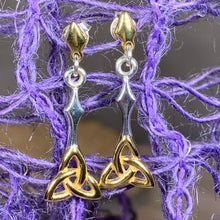 Load image into Gallery viewer, Celtic Trinity Knot Earrings