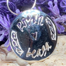 "Load image into Gallery viewer, Gaelic ""Little Kisses"" Necklace"