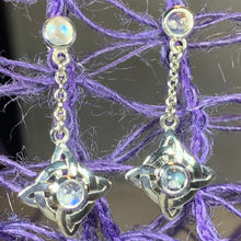 Load image into Gallery viewer, Celtic Protection Knot Earrings