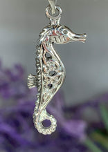 Load image into Gallery viewer, Celtic Seahorse Necklace