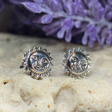 Load image into Gallery viewer, Sun Stud Earrings