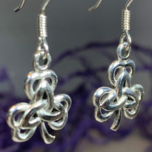 Load image into Gallery viewer, Trinity Knot Shamrock Earrings