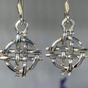 Shield Knot Earrings