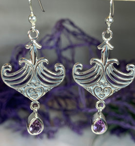Elegant Celtic Viking Earrings