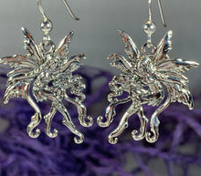 Load image into Gallery viewer, Firefly Fairy Earrings