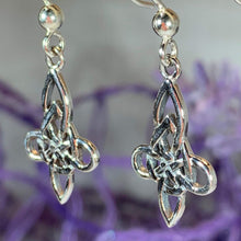 Load image into Gallery viewer, Eve Celtic Knot Earrings