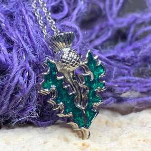 Annis Thistle Necklace