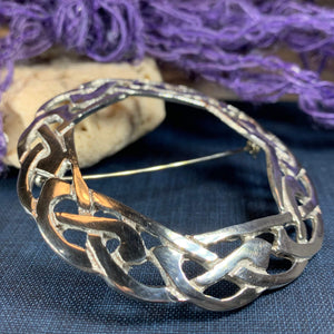 Claire Celtic Knot Brooch