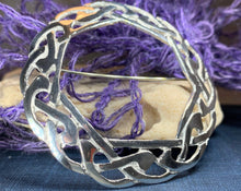Load image into Gallery viewer, Claire Celtic Knot Brooch