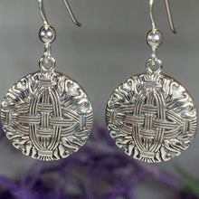 Load image into Gallery viewer, Saint Bridgit's Cross Earrings