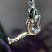 Load image into Gallery viewer, Silver Yoga Pose Necklace