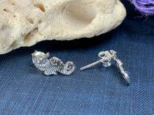 Load image into Gallery viewer, Seahorse Marcasite Earrings