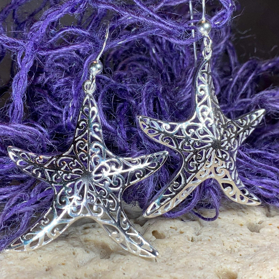 Cassie Starfish Earrings