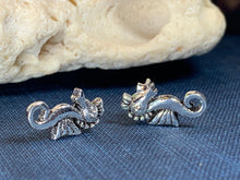 Load image into Gallery viewer, Happy Seahorse Post Earrings