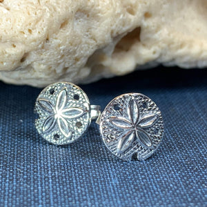 Sand Dollar Post Earrings