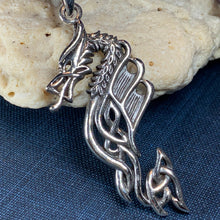 Load image into Gallery viewer, Celtic Dragon Necklace