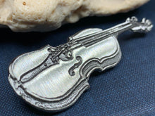 Load image into Gallery viewer, Irish Fiddle Celtic Brooch