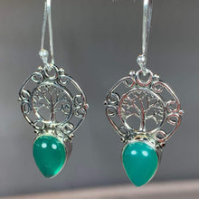 Load image into Gallery viewer, Ancient Tree of Life Earrings