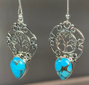 Ancient Tree of Life Earrings