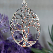 Load image into Gallery viewer, Eriu Tree of Life Necklace