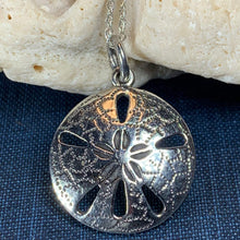 Load image into Gallery viewer, Sand Dollar Necklace