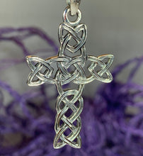 Load image into Gallery viewer, Kilarney Celtic Cross Pendant