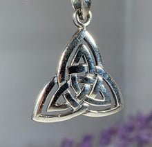 Load image into Gallery viewer, Celtic Triangle Necklace