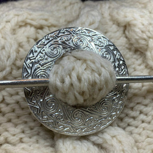 Isla Celtic Scarf Ring