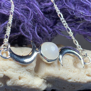Nialla Triple Moon Necklace