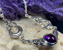 Load image into Gallery viewer, Celtic Triple Moon Necklace
