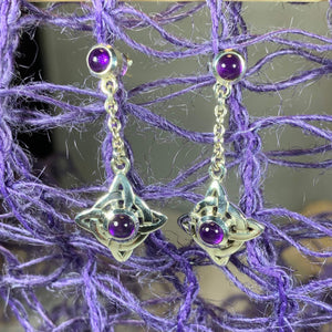 Celtic Protection Knot Earrings