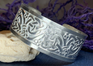 Fionn Celtic Knot Bangle Bracelet