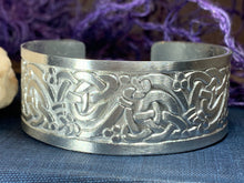Load image into Gallery viewer, Fionn Celtic Knot Bangle Bracelet