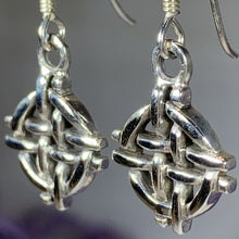 Load image into Gallery viewer, Shield Knot Earrings