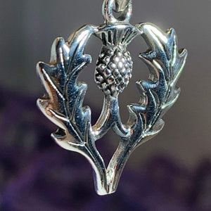 Aberdeen Thistle Necklace